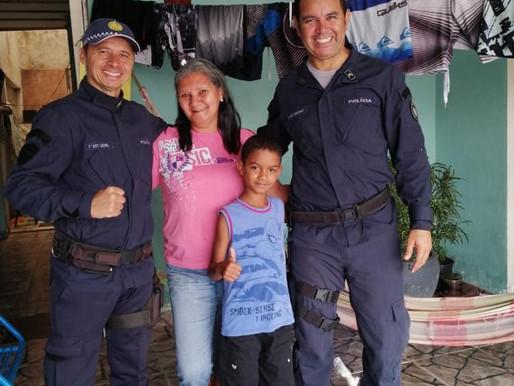 PMDF e comunidade se unem para ajudar moradores do Sol Nascente