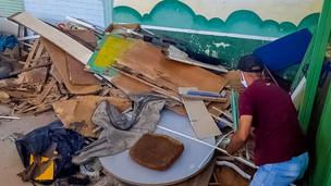 GDF retira mais de 98 toneladas de entulho das ruas de Ceilândia