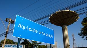 Projeções na Caixa D'Água de Ceilândia resgatam história da cidade