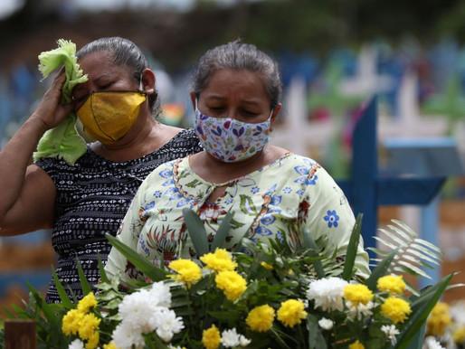 Brasil registra 600 mortes em um só dia e chega a 7.921 óbitos por Covid-19