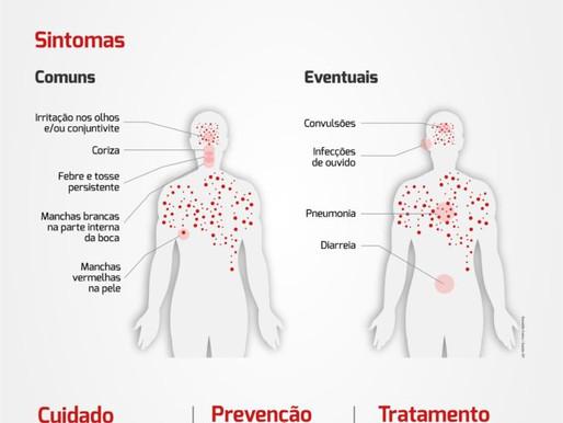 Campanha de Vacinação contra o Sarampo começa hoje