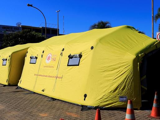 Hospitais de campanha reforçam combate à dengue no DF
