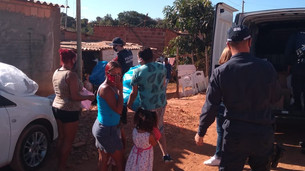 PMDF realiza ação comunitária no Sol Nascente