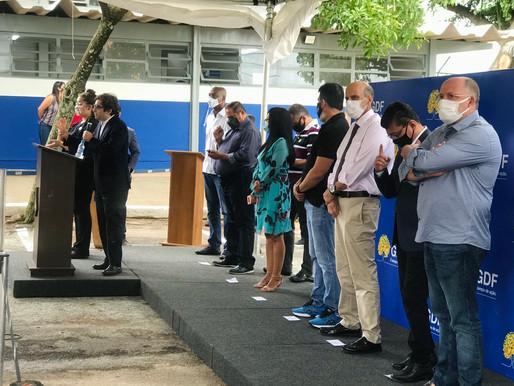 UBS é entregue para Comunidade em Ceilândia