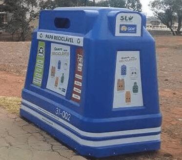Ceilândia vai receber 13 papa-recicláveis