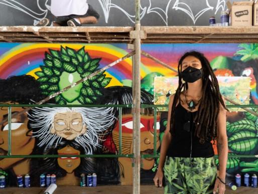 Grafite, a arte que deixa Brasília ainda mais diversificada