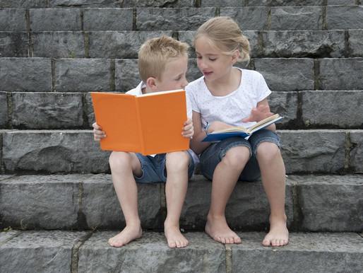 """""""É nos livros que eu posso me transportar para onde eu quiser"""""""