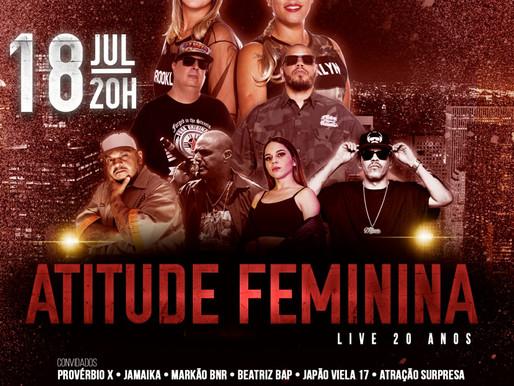 Grupo atitude feminina comemora 20 anos de carreira