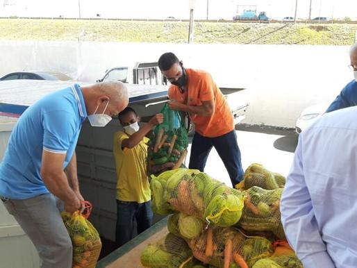 Começam a chegar as cestas verdes para o programa 'Papa-DF'
