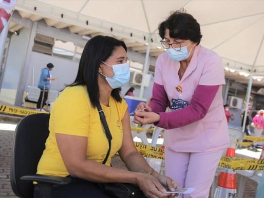 Quase 120 mil pessoas vacinadas no DF em dois dias