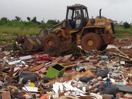 Administração de Ceilândia retira mais de 24 toneladas de lixo e entulho das ruas da cidade