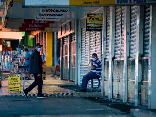 Comércio em Ceilândia deve reabrir na segunda-feira, diz Correio