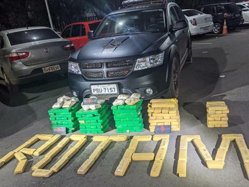 Traficante é preso com 200 quilos de maconha debaixo da cama da filha, no Sol Nascente