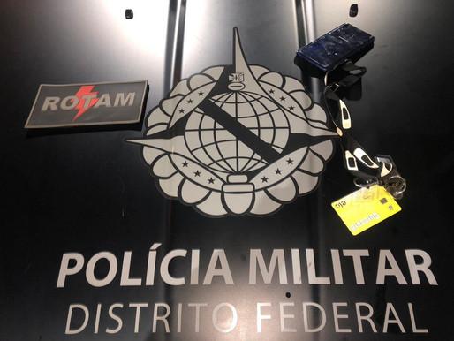 PMDF prende assaltante de parada de ônibus na Ceilândia