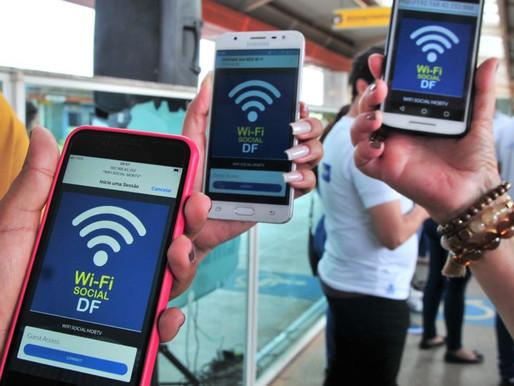 Estação Ceilândia Centro ganha ponto do Wi-Fi Social