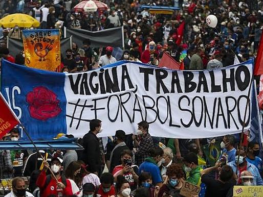 #24J: quase 500 cidades aderem aos atos 'Fora Bolsonaro' deste sábado