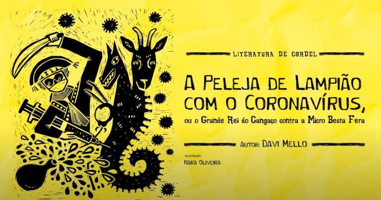 Cordel da covid-19 entra para o acervo da Casa do Cantador