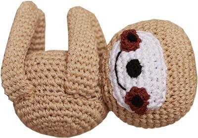 Knit Knacks Sloth Toy