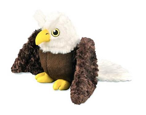 Edgar Eagle Stuffed Dog Toy