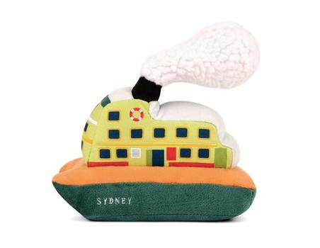 Sydney Ferry Stuffed Dog Toy