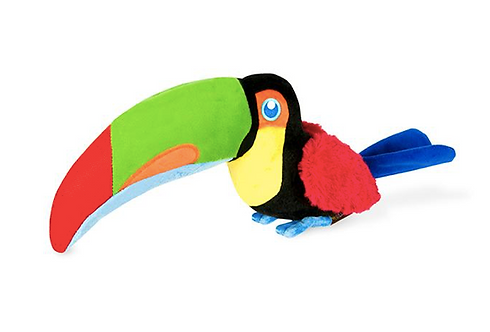Tito Toucan Stuffed Dog Toy