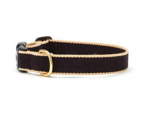 Black and Tan Bamboo Collar