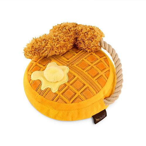 Chicken & Woofles Stuffed Dog Toy