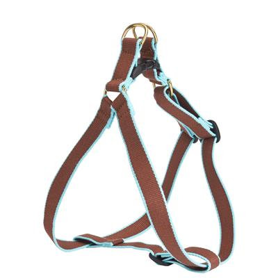 Brown and Aqua Bamboo Harness