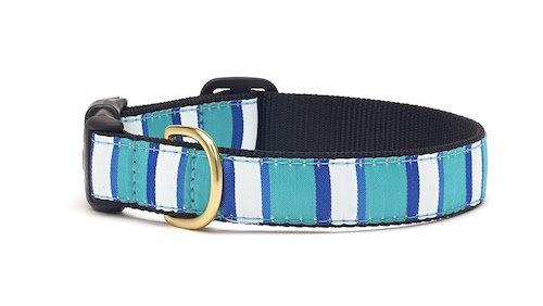 Blue Stripe Collar