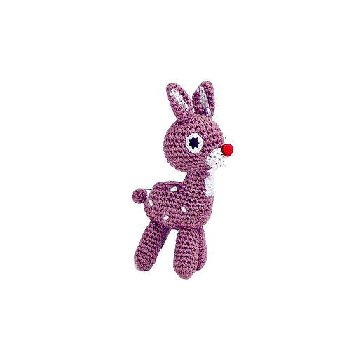 Knit Knacks Rudolph Christmas Toy