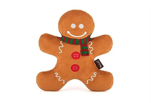 Gingerbread Man Dog Toy
