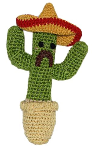 Knit Knacks Cactus Toy
