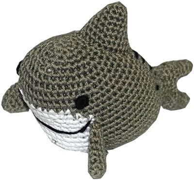 Knit Knacks Shark Toy