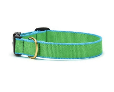 Lime and Aqua Bamboo Collar