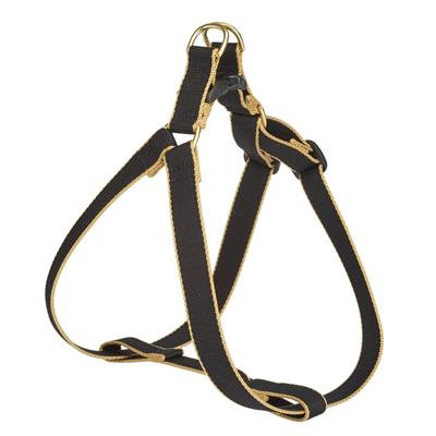 Black and Tan Bamboo Harness