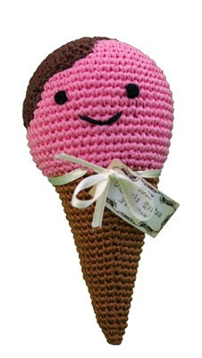 Knit Knacks Ice Cream Toy