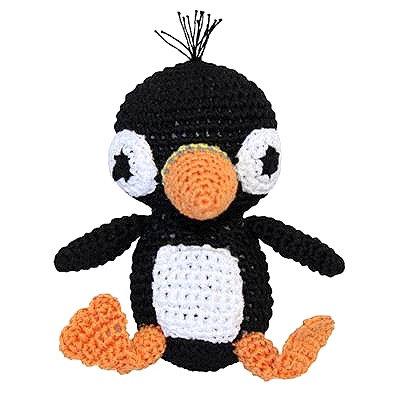 Knit Knacks Penguin Toy