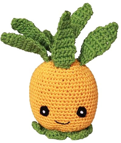Knit Knacks Pineapple Toy