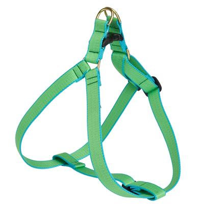 Lime and Aqua Bamboo Harness