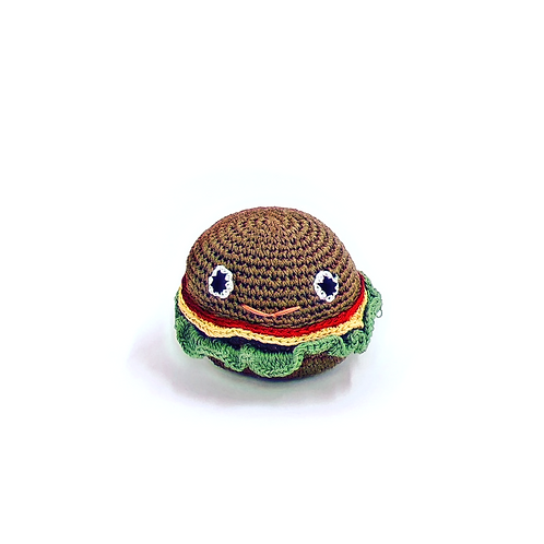 Knit Knacks Burger Toy