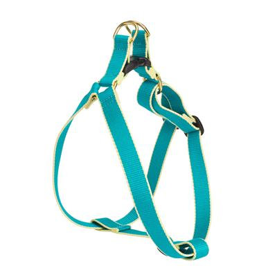 Teal and Yellow Bamboo Harness