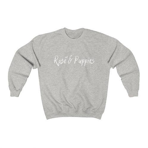 Rosé & Puppies Crewneck Sweatshirt