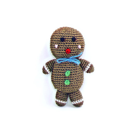 Knit Knacks Gingerbread Man Christmas Toy