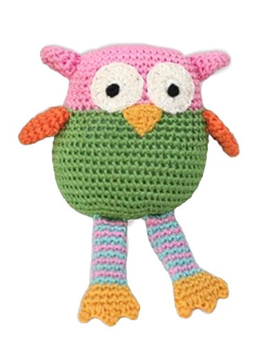 Knit Knacks Owl Toy