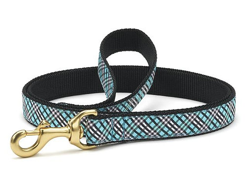 Aqua Plaid Lead