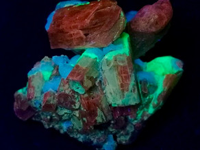 Apatite Calcite crystals with Chalcedony coating from Jumilla, Spain
