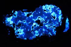 Hydrozincite, Smithsonite from Hermosa mine, Spain.