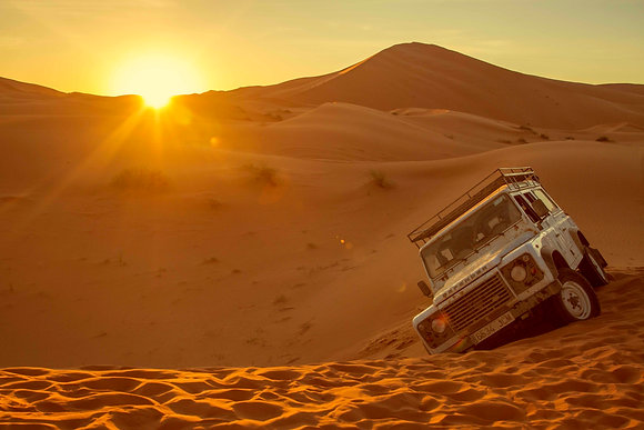 Ruta en el Sahara