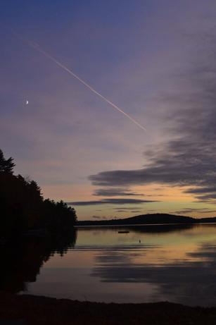 Giguere Sunset Great Pond 2020 Oct.jpg