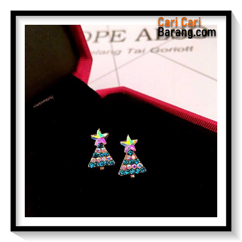 Anting Motif Natal - Christmas Earrings
